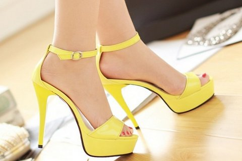 Free shipping quality high heel sandals fashion women dress sexy female platform shoes slippers P13402 hot sale EUR size 34-39(China (Mainland))