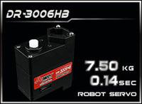 POWER HD,DR3006HB, robot servo 150 rev,Torque 7.5kg,Speed 0.14sec