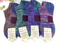 Mix Color Man Ship Socks cotton socks Man Bold Lines Boat socks Odor-proof Absorbent Antibacterial Stealth quality sock