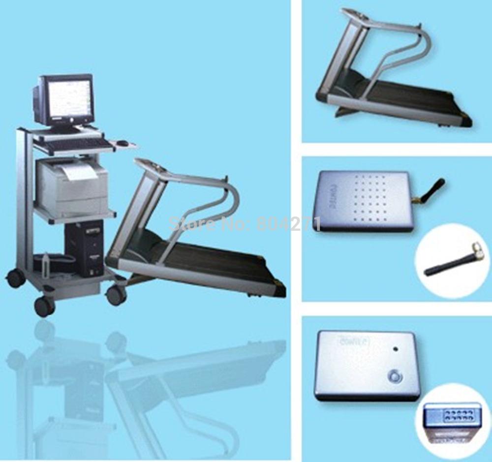 CONTEC8000S 12-Lead digital Wireless Stress ECG EKG Workstation Systems(China (Mainland))