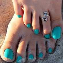 Women Lady Girl Boho Charming Elegant Stylish Toe Ring Beach Foot Jewelry