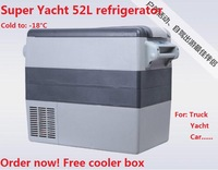 52L Compressor Refrigerator  camper van refrigerator Yacht refrigerator with Euro quality by EMS Fast Free Shipping