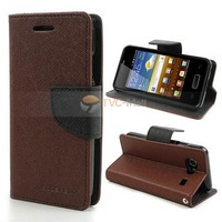 Mercury Fancy Diary Stand Leather Case for Samsung Galaxy S Advance I9070 Freeshipping