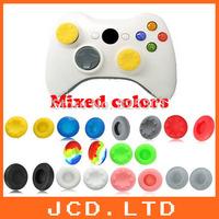 50pair/lot=100pcs Analog Thumbsticks cover cap Non-slip cap for xbox 360 Controller controller mixed colors