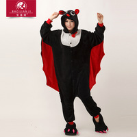 eshop Bat Kigurumi Pajamas adult animal onesies Unisex Cosplay Costume halloween costumes for women party Sleepwear