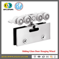 High Quality Stainless Steel 120kg Capacity 8 Wheels Glass Sliding Door System