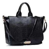 2015 new tide women handbag serpentine pattern shoulder bag crossbody bag fashion bolsas hot sale women messenger bags 3 colors