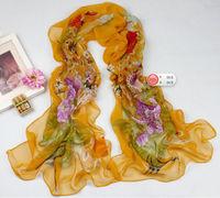 Pretty Women's  Georgette Chiffon  Wrap Shawl Beach Scarf    sf1049