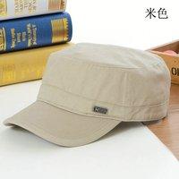 Free shipping Korean version of the simple flat cap, baseball cap, sun hat