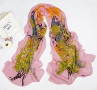 Pretty Women's  Georgette Chiffon  Wrap Shawl Beach Scarf   sf6101