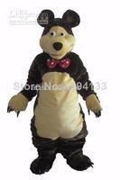 masha bear adult Mascot Costume Adult cartoon costumes advertising mascot animal costume school mascot fancy dress costumes