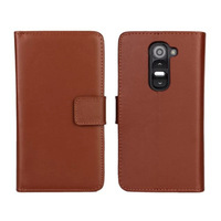 High Quality Genuine Wallet Leather Flip Case Cover for LG Optimus G2 Mini D620 Free Shipping UPS DHL EMS HKPAM CPAM