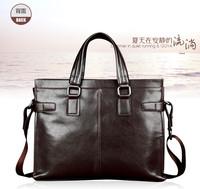 2014 Men's Messenger 2 Genuine Leather Bags brand handbags Designer Handbags Men Travel Bags large tote bag briefcase Bag