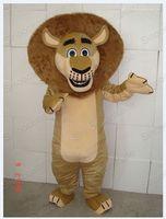 Madagascar Lion Alex Mascot Costume cartoon costumes advertising mascot animal costume school mascot fancy dress costumes
