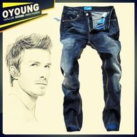 W29-W40#DSQ2005,New 2015 Italian Fashion Famous Brand Men's Jeans,Plus Size Designer Straight Denim Slim Fit Ripped Jeans Men