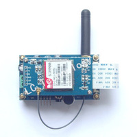 SIM900 Four frequency GSM/GPRS development board mobile development board  with voice interface antenna