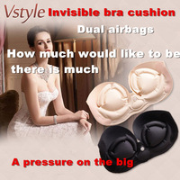 Taiwan 2014 Greatest design ! Miss Bobo genuine buoyancy invisible bra underwear lingerie bra ultra-breathable Aerated bra