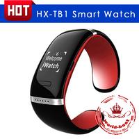 Fashion Smart wrist watch HX-TB1 Smart Watch Bluetooth 3.0 Bracelet with Call Answer SMS Reminding Music Player free shipping