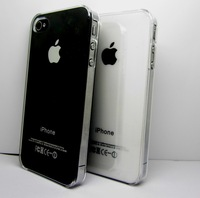 1Pcs Best Clear Transparent Crystal Hard Case for iphone 4S 4 Cover for iphone 4S 4