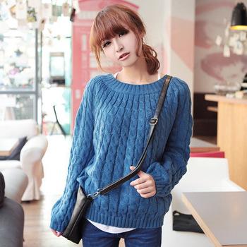 Женщины свитера леди вязаный свитер женщины пуловеры