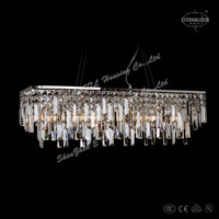 Free Shipping 2014 So modern crystal pendant lights for dining room ETL82113
