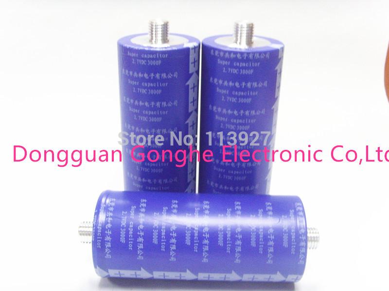 more than 1000000 life cycles farad capacitors 2.7v 3000f 60*138MM(China (Mainland))
