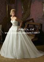 Hot Sale Pleated Sweatheart Empire Pregnant Wedding Dresses Backless Simple RG1380 Beading Sashes Satin