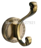 Antique brass alloy clothes hook row  single  hangers wall clothes coat hooks door hook