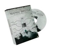 Free Shipping! Manoj Bottle by Manoj Kaushal - Magic Trick,Accessories,mentalism,stage magic props,close up