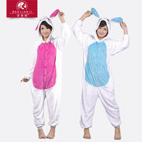 eshop Rabbits Kigurumi Pajamas adult animal onesies Unisex Cosplay Costume halloween costumes for women party Sleepwear