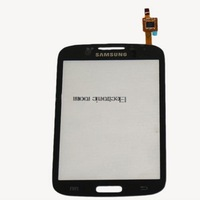 for SAMSUNG i8262 GALAXY CORE DUOS BLACK DIGITIZER TOUCH SCREEN LENS GT-i8262 i8260