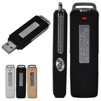 2014 High Quality 3 Color Mini 8GB USB Digital Audio Voice Recorder Dictaphone Flash Drive Disk WAV Format 2X DA1049
