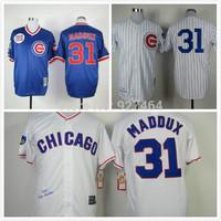 2014 cheap stitched Chicago Cubs Jerseys #31 Greg Maddux  throwback M&N  baseball Jersey/shirt /sportswear