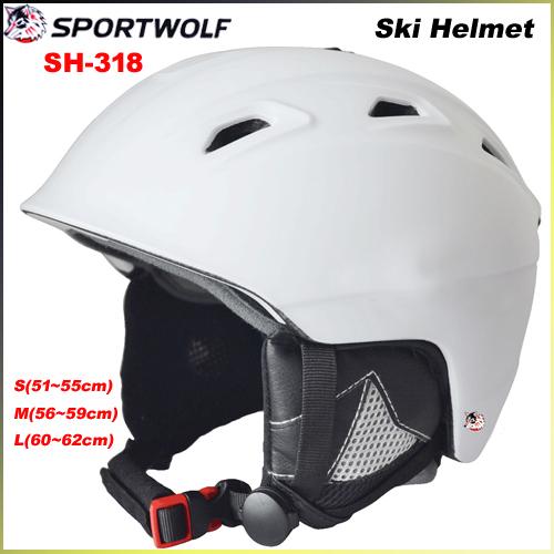 2014 New Brand SPORTWOLF Sking Helmet EPS In-mold Professional Snowboard Ski Helmet Unisex Skateboard Helmet SH-318(China (Mainland))