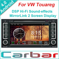 2014 Android 4.0 OS Car DVD GPS Player for VW Touareg Dual Core 1GHZ CPU 512MB DDR3 3G Wifi DVR 1080P Russian Menu