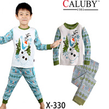 free shipping frozen boy boys snow man pajamas pyjamas pjs cotton