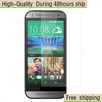 High Quality Clear Screen Protector Film For HTC One M8 Mini Free Shipping DHL UPS EMS HKPAM CPAM