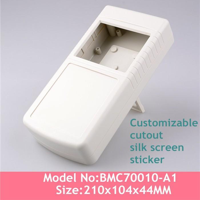 (3pcs)ABS Plastic Enclosure handheld enclosure plastic china power distribution box plastic junction box 210*104*44mm(China (Mainland))