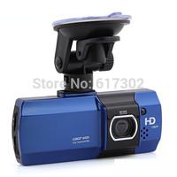 2014 New CAR DVR Dual Camera AT580 Dual Lens HD 1080P HDMI H.264 2.7'' LCD 148 Degree View Angle Video Recorder Free shipping