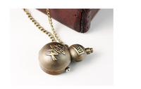 Personalized pocket watch pendant gourd table