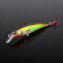 1pc Minnow fishing lure Hot-selling Fishing bait 10.9CM/13.3G  laser 1 Color fishing tackle free shipping(China (Mainland))