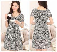2014 new arriving plus size women summer dress lace short sleeves Elegant slimming one-piece dress plus  female