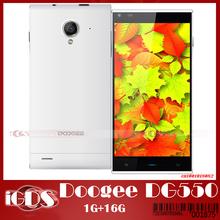 """Doogee DG550 Octa 5.5 """" IPS экран сотовый телефон MTK6592 16 ГБ ROM 1.7 ГГц андроид 4.2.9 13MP камеры смартфон новое поступление(China (Mainland))"""