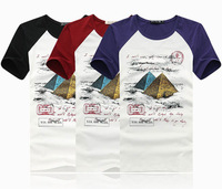 short sleeve t-shirts men tee shirts plus size M L XL XXL XXXL 4XL 5XL 6XL free shipping F55