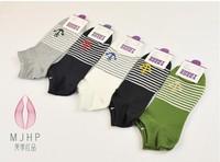 New 100% Cotton Invisible Man Jacquard Socks/200 Needle Pirate Captain Ship sock/Men's socks/gym socks/Boat socks10pair/lot