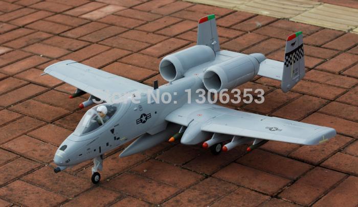 Freewing A10 KIT Dual 64mm EDF Jet plane RC model(China (Mainland))