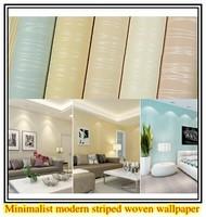 Modern wallpaper stripe wall paper classic background wall wallpaper striped non-woven wallcovering papel de parede listrado