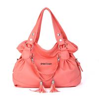 Fashion bag 2013 women's casual fashion handbag gentlewomen women's bags tassel bag women's one shoulder