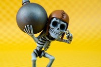 2014 COC Clash of Clans  Wall Breaker  Figure Toy 10CM made of Resin Collector's Edition