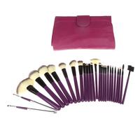 26PCS Professional Cosmetic Set Makeup Brushes Tool Makeups Facial Beauty Cosmetics Kit with Pouch Bag
